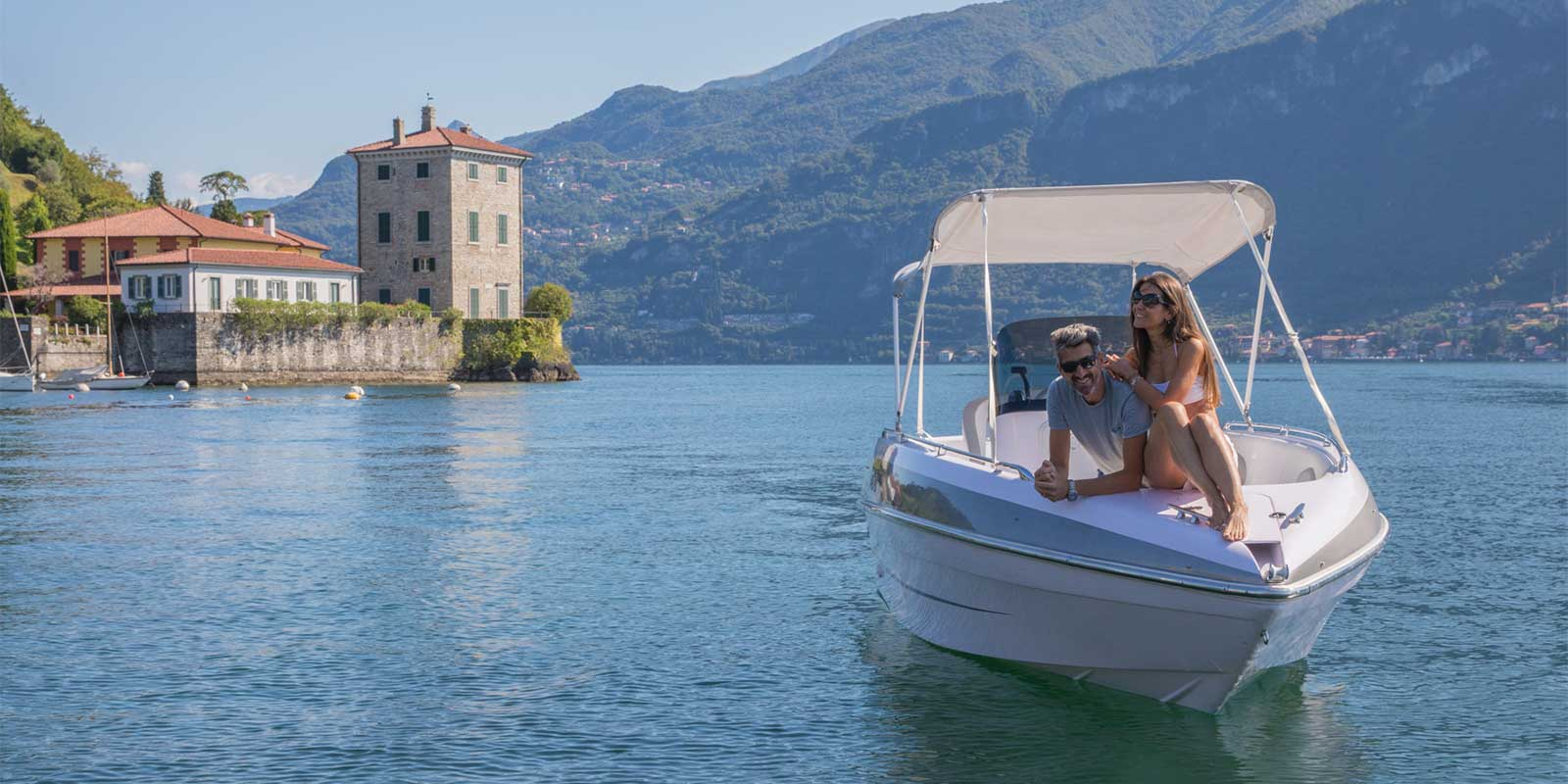 Slide - Lake Como rent Boat - Cadenazzi
